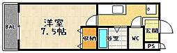 アムフルース2[306号室]の間取り