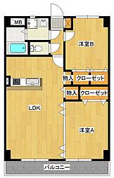 Y&M TAKAHASHI[3階]の間取り