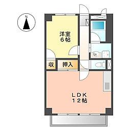 サープラスツー野菊(サープラスII野菊)[1階]の間取り