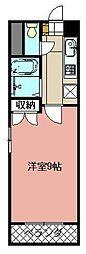 ステージア祇園[402号室]の間取り