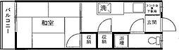 東京都葛飾区宝町2丁目の賃貸マンションの間取り
