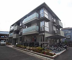 京都府京都市右京区嵯峨野南浦町の賃貸アパートの外観