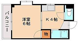 パークサイド[3階]の間取り