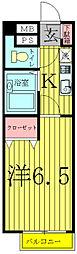 ラ・メゾンM2[501号室]の間取り