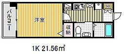 ロイヤル神戸三宮[9階]の間取り