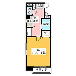 セレクトⅠ[3階]の間取り