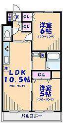 FLAT4[2階]の間取り