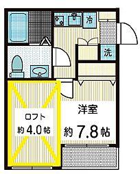 トワベール[2階]の間取り