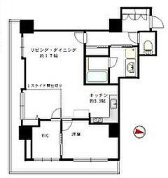 D'グラフォート横浜クルージングタワー[14階]の間取り
