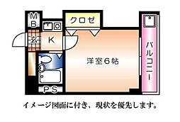 BUILD.K・I(ビルドケイアイ)--[404号室]の間取り