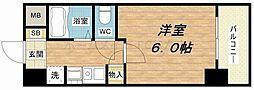 エステムコート心斎橋アルテール[2階]の間取り