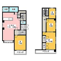 プレミオ覚王山[1階]の間取り