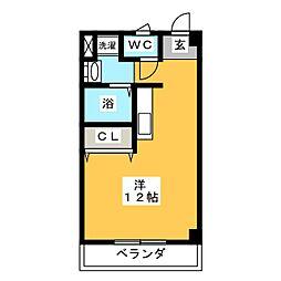 グリーンライフ[1階]の間取り