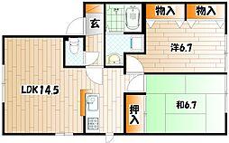 エティンセラー21 A棟[1階]の間取り