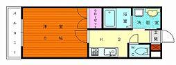 福岡県福岡市東区三苫4丁目の賃貸マンションの間取り