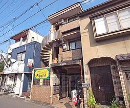 京都府京都市左京区田中上柳町の賃貸マンションの外観