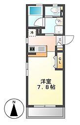 STEEDIII(スティードスリー)[4階]の間取り