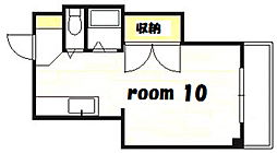 第1初龍ビル[2階]の間取り