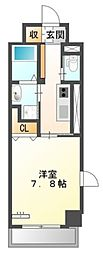 仮)中区正木3丁目自宅併用店舗マンション[5階]の間取り