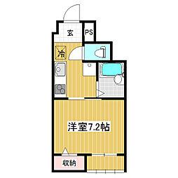 B−Quartet[2階]の間取り