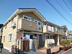 東京都武蔵村山市伊奈平4丁目の賃貸アパートの外観