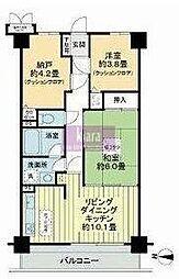 クリオ片倉町六番館[1階]の間取り