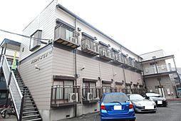 埼玉県越谷市瓦曽根2丁目の賃貸アパートの外観