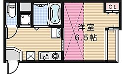 ティユール文の里[103号室]の間取り