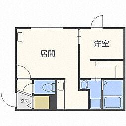 SENNA元町[3階]の間取り