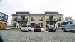 北海道札幌市西区宮の沢一条4丁目の賃貸アパートの外観