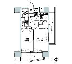 パークキューブ板橋本町[14階]の間取り