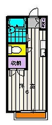 リシェス鶴川[2階]の間取り