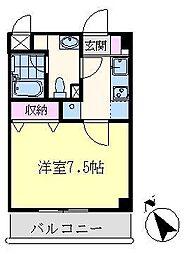 コートエスト[2階]の間取り