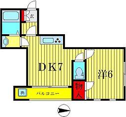 メゾンT&R[1階]の間取り