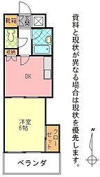 石垣東成ビル[0502号室]の間取り