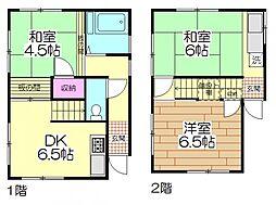 [一戸建] 東京都足立区梅島3丁目 の賃貸【東京都 / 足立区】の間取り