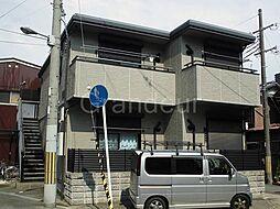 大阪府大阪市福島区海老江3丁目の賃貸マンションの外観