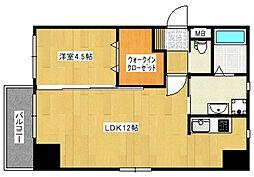 at.east -エイティ・イースト-[2階]の間取り