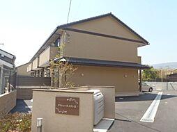 京都府京都市西京区樫原分田の賃貸アパートの外観