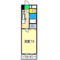 CRAY4[2階]の間取り