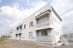 埼玉県川口市大字藤兵衛新田の賃貸アパートの外観