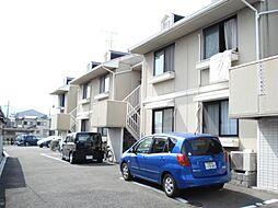 京都府京都市西京区川島東代町の賃貸アパートの外観