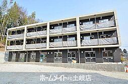 岐阜県土岐市泉町久尻の賃貸マンションの外観
