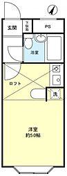 ベルピア習志野台1−2[2階]の間取り