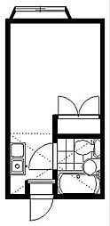 ラークハイム[202号室]の間取り