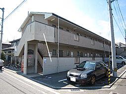愛媛県松山市今在家1丁目の賃貸アパートの外観