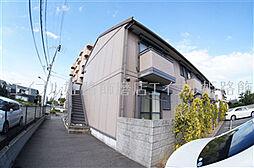 兵庫県姫路市飾磨区上野田1丁目の賃貸アパートの外観