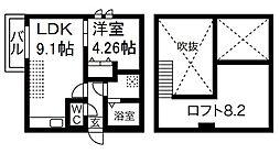 Creo中村公園七番館[2階]の間取り
