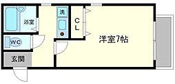 エスポワール十八条[3階]の間取り