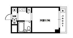 HR下新庄[5階]の間取り